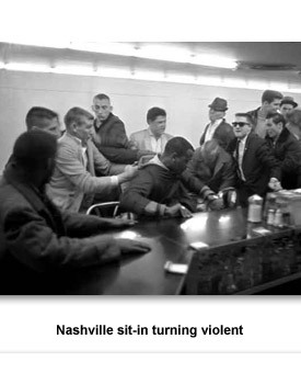 the nashville sit ins Nashville, tn — on the 50th year after the death of martin luther  and  frankie henry who were student participants in the nashville sit-ins,.