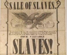 Jackson Slavery Slaves Poster