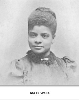 "b wells essay ""one had better die fighting against injustice than die like a dog or a rat in a trap"" ida b wells do you have problems finding ideas that you can develop in your ida b wells essay."